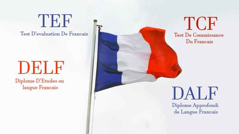 آزمون های زبان فرانسه