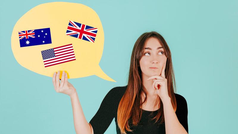 تفاوت لهجه بریتیش با آمریکایی